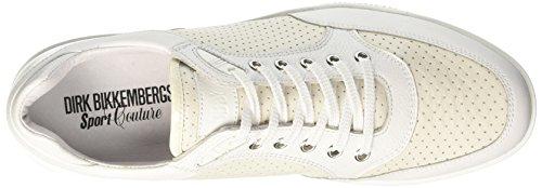 Bikkembergs Olimpian 188, Zapatillas de Estar por Casa para Hombre Bianco