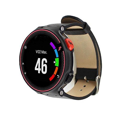 teresamoon-watch-band-strap-pu-leather-sturdy-durable-wristband-for-garmin-forerunner-235-630-230-bl