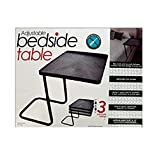 Multi-Purpose Adjustable Bedside Table-Package Quantity,6