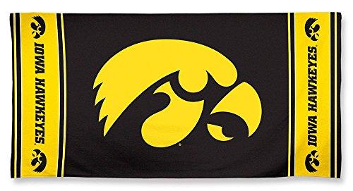 NCAA Hawkeyes Beach Towel Color product image