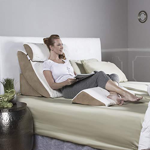 Avana 4-Piece Cool Gel Memory Foam Bed Wedge System ()