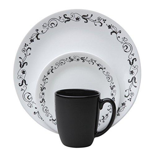 Corelle Livingware 32-Piece Dinnerware Set, Garden Getaway,
