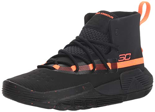 - Under Armour Boys' Grade School SC 3Zer0 II Basketball Shoe, (002)/Black, 6
