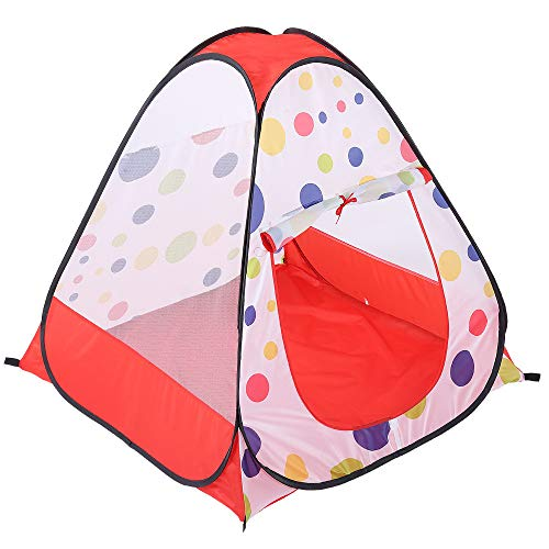 Sviper Kids Play Tunnels Kids Play Tent Polka Dot Pattern Indoor Toys Children Playhouse Portbale Pop Up Tunnel Gift Toy by Sviper (Image #1)