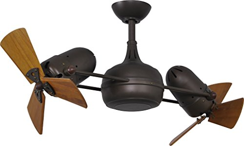 - Matthews Fan Company DG-TB-WD Ceiling Fan, Textured Bronze Finish