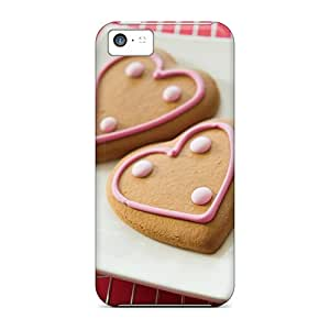 Hard Plastic Iphone 5c Cases Back Covers,hot Love Cookies Cases At Perfect Customized