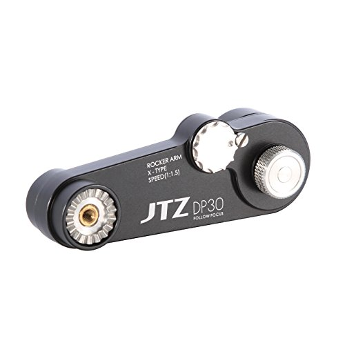 JTZ 1:1.5 Extension Arm for DP30 Cine Camera Follow Focus Canon C100 Sony A7 A9 Panasonic GH4 GH5 etc. by JTZ