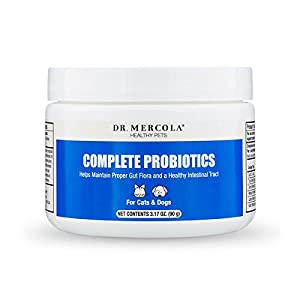 Dr. Mercola, Complete Probiotics, For Cats and Dogs, 3.17 oz (90 g), non GMO, Soy-Free, Gluten Free