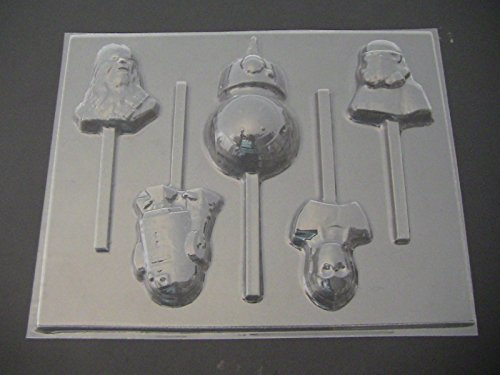 - Star Wonders Force Awakens Wars Chocolate Candy Lollipop Mold