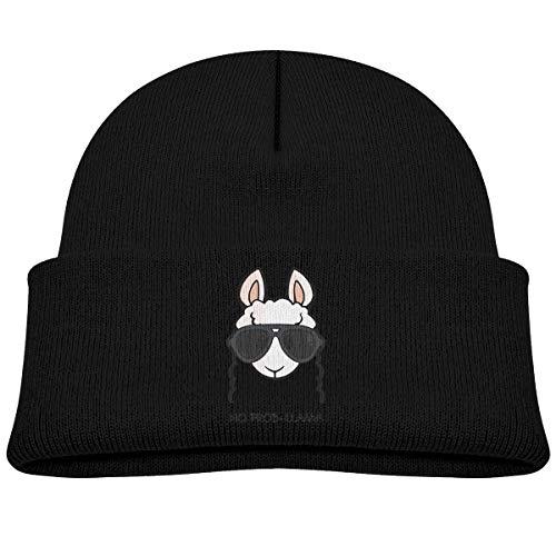 Baby Beanie Knit Hat Llama Alpaca Cute Warm Cotton Soft Cap