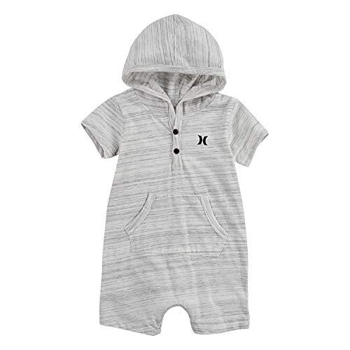 Hurley Baby Boys' Short Sleeve Romper