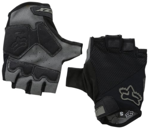 Fox Head Men's Reflex Gel Short Glove, Black, Medium
