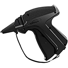 """VIVREAL OFFICE Clothes Tagging Gun - Tag Gun With 1500 2"""" Standard Attachments And 6 Needles, Easy To Load, Standard Tag Gun Perfect For Consignment Sale, Family Yard Sale Or Other Purposes"""