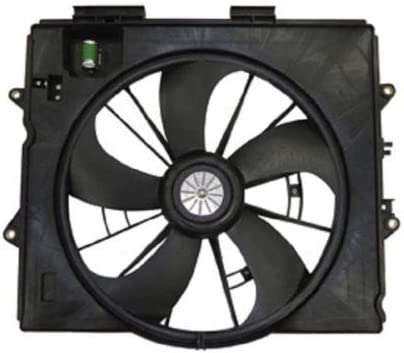 Radiator And Condenser Fan For Cadillac CTS STS TYC622930
