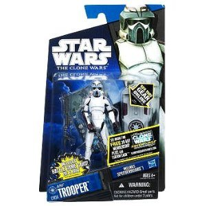 Star Wars The Clone Wars 2011 Series ARF Trooper #CW56 (Kamino) 3.75 Inch Scale -