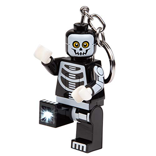 LEGO Monster Fighters Skeleton Key Light - Minifigure Key Chain with LED Flashlight