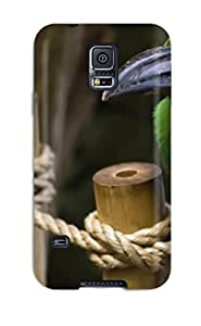 Flexible Tpu Back Case Cover For Galaxy S5 - Bird