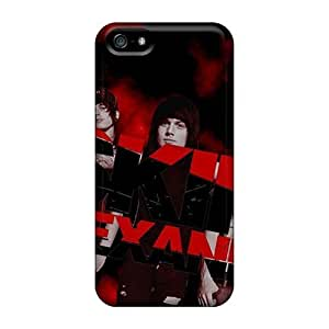 Excellent Hard Cell-phone Case For Iphone 5/5s With Allow Personal Design Stylish Red Hot Chili Peppers Pictures SherriFakhry