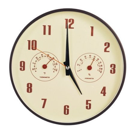 decomates-non-ticking-silent-wall-clock-with-built-in-thermometer-fahrenheit-hygrometer-retro-multip