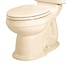 American Standard 3167.016.021 Oakmont Champion-4 Round Front Seat Less Toilet Bowl with Bolt Caps, Bone