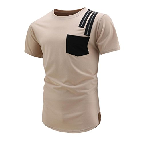 Men's Tee,Neartime Boy Slim Fit T-shirt Short Sleeve Shirt Casual Tops (m, (Cool Suits For Boys)