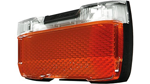 Herrmans H-Trace dynamo LED rear light black/red