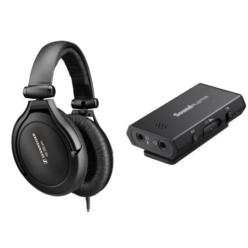 Sennheiser Amps (Sennheiser HD380 Pro Headphones with Creative E1 Headphone Amp)