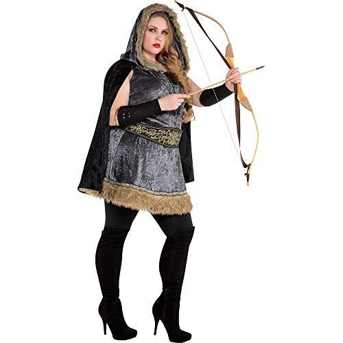 AMSCAN Women's Plus Size Archer Costume, xxl
