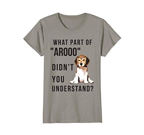 Womens Chicky Beagles T Shirt, Beagles Shirt Medium Slate