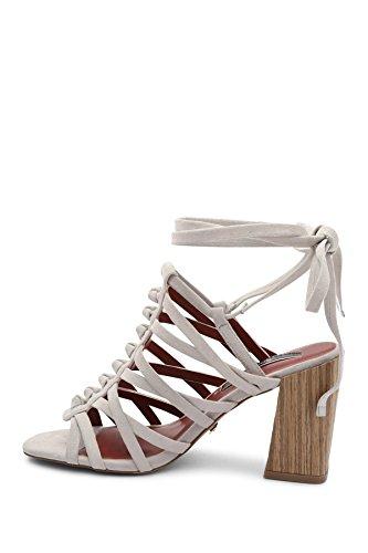 us Frauen Femme Sandales Pour White Kensie pf0qx