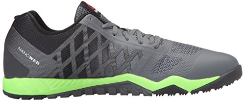 Reebok Men s Ros Workout TR Training Shoe Alloy/Coal/Solar Green/Black/White  12 D(M) US: Buy Online at Low Prices in India - Amazon.in