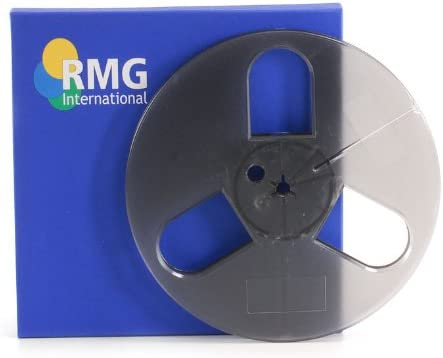 "5/"" x 1//4/"" plastic tape reel...SMALL HUB with hinged box"