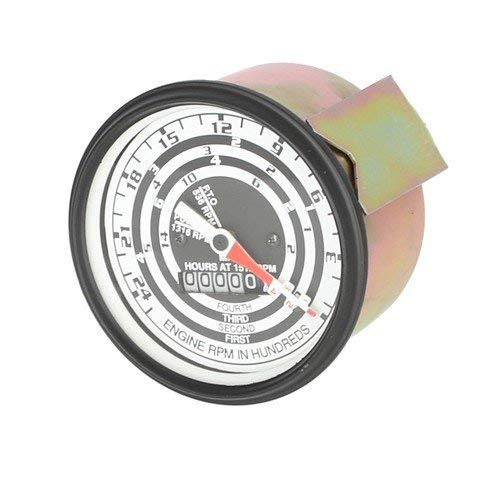 (Tachometer (Proofmeter) Gauge - 4 Speed with OEM Style Needle Ford 701 801 820 800 4130 621 2120 2110 700 4140 841 4000 821 4120 900 941 501 1801 901 NAA 620 4030 4110 641 600 2000 631 630 640 601)
