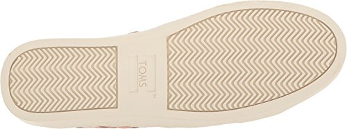 Toms Womens Lenox Bloom Suede / Basketweave 10 B Us