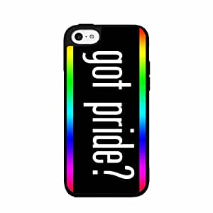Got Pride Rainbow Background Plastic Phone Case Back Cover iPhone 5c