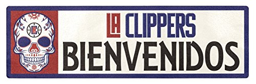 Applied Icon, NBA Los Angeles Clippers Bienvenidos Outdoor Step Graphic Decal ()