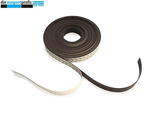 Magnetband selbstklebend Magnetklebeband Qualität 3M 5 m Rolle 10 mm x 1,3 mm