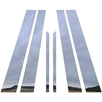 4 DOOR PILLARS STAINLESS STEEL COVER FOR CHEVROLET OPTRA SEDAN 2006 2007 2008