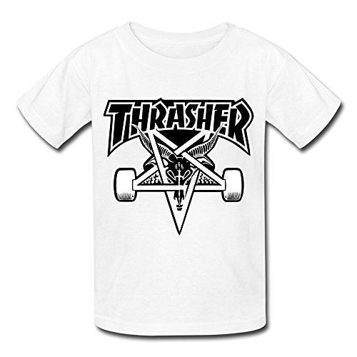 Losnger Kid's Thrasher Skateboards Amsterdam T Shirt (Amsterdam Tee)