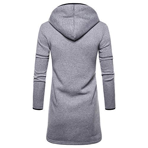 Amazon.com: Triskye Hoodies for Men, Zipper Fashion Mens ...