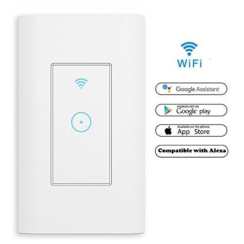 Smart WiFi Switch, MEAMOR Remote Control Wireless...