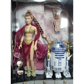 Star Wars Princess Leia Organa & R2-D2 as Jabba's Prisoners