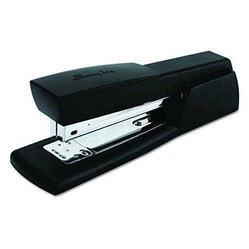 Swingline 40701 Light-Duty Full Strip Desk Stapler, 20-Sheet Capacity, Black