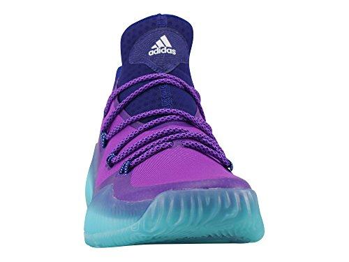 Adidas Crazy explosive Low–Chaussures de Basketball pour Homme, multicolore–(Puruni/Ftwbla/mensen) 422/3