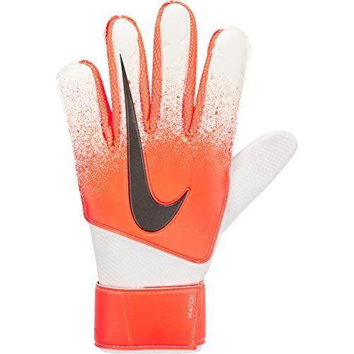 Nike Match Goalkeeper Gloves (Orange/White/Black, 8)