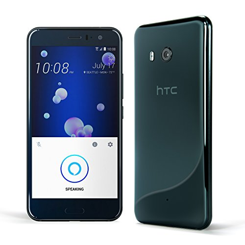 HTC U11 with hands-free Amazon Alexa – Factory Unlocked – Brilliant Black