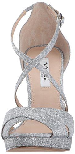 Dress Nina Women's Silver Marylyn Nina Women's 1qwxIq8a