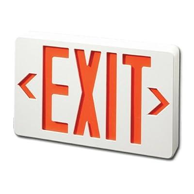 LED Exit Sign Emergency Light Lighting Emergency LED Light / Battery Backup / Red Letter