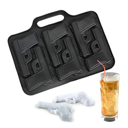 - Ice Tray - Party Drink Ice Tray Cool Pistol Gun Cream Maker Mould Mold Style Large Tubes Bar - Halloween Whiskey Aluminum Half Octopus Shelf Horse Inflatable Oval Cover