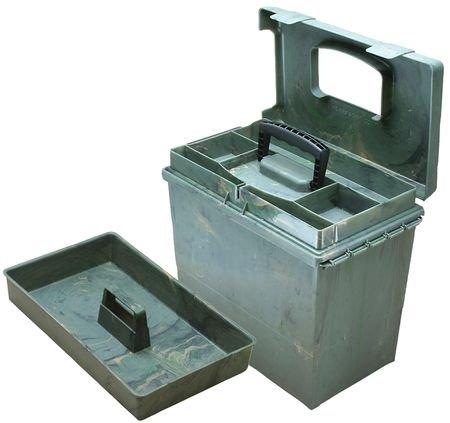 MTM Sportsmen's Plus Utility Dry Box, Wild Camo, Wild Camo Box Wild Camo